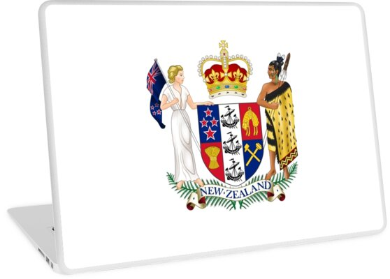 Coat of Arms of New Zealand  by abbeyz71