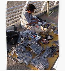 Producing and selling handcraft - Produciendo y vendiendo artesania Poster