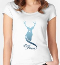 Expecto Patronum! (Stag) Women's Fitted Scoop T-Shirt