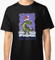 Tyrannosaurus Christmas Card Classic T-Shirt