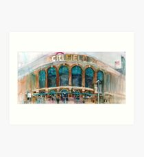 CitiField - Mets Watercolor Print Art Print