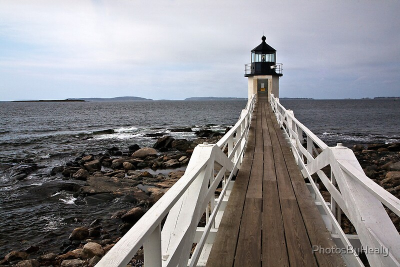 Marshall Point Light by Photos by Healy