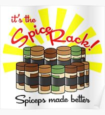 The Spice Rack! Poster