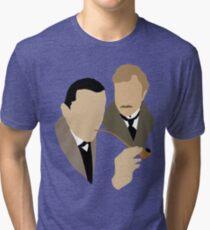 Sherlock - Brett 'n Burke Tri-blend T-Shirt