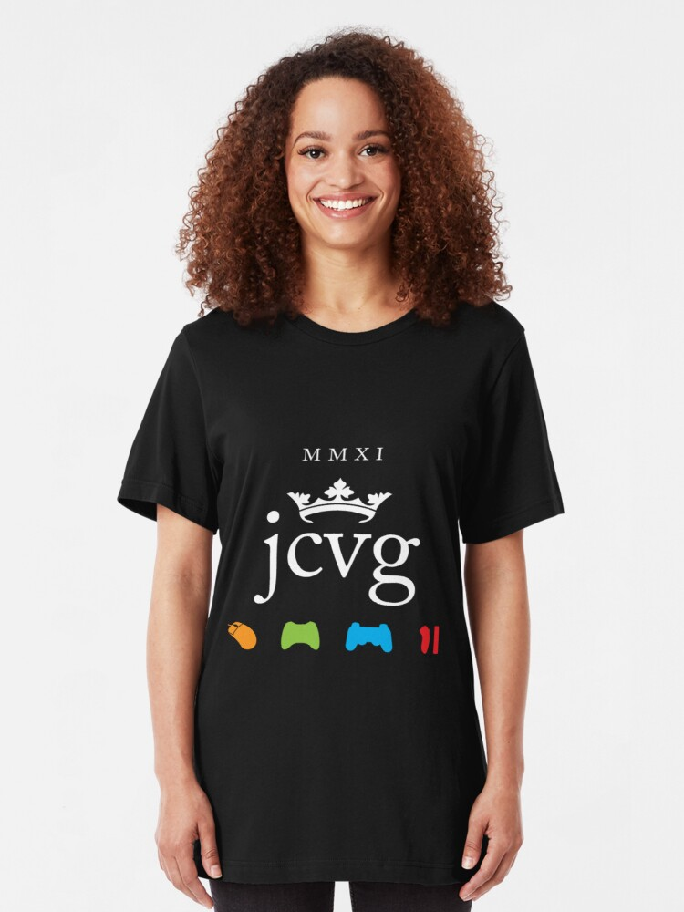 "Alternate view of JCVG 2011 ""King Shirt"" Slim Fit T-Shirt"