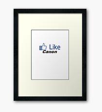 Like Canon Framed Print