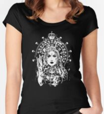 Radioactive madonna Women's Fitted Scoop T-Shirt