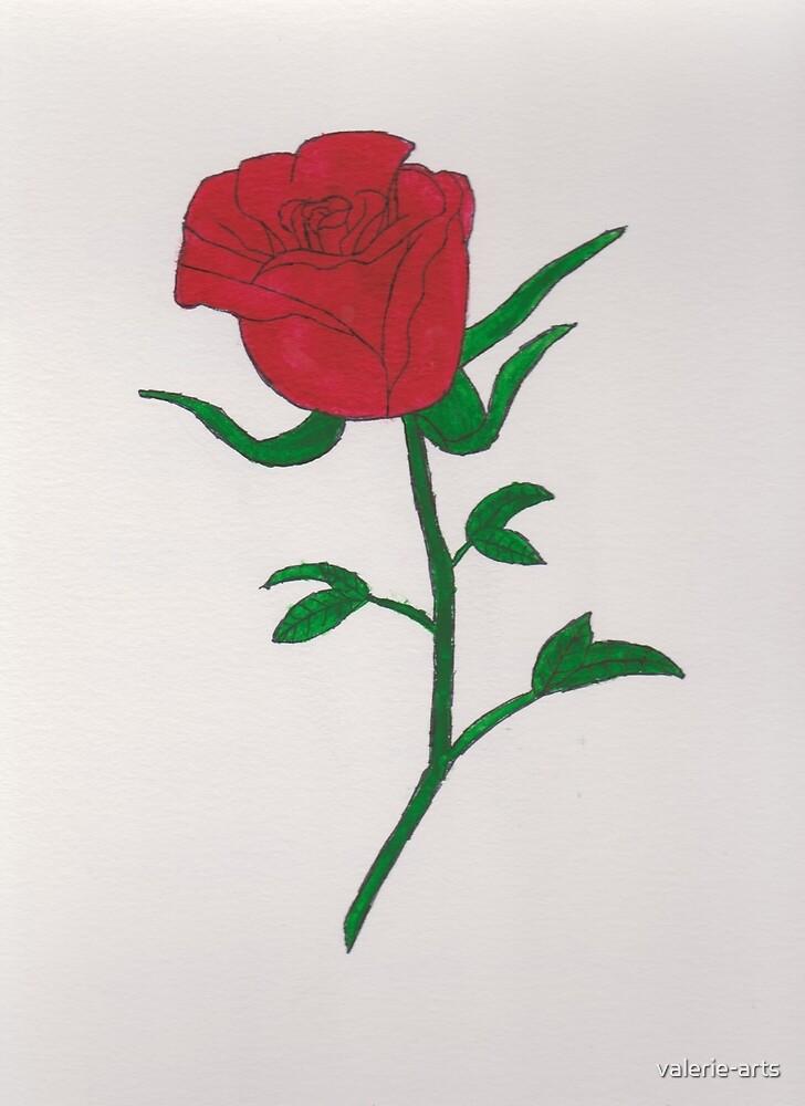 Rose by valerie-arts