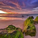 Kirra Beach Sunset by Jayde Aleman