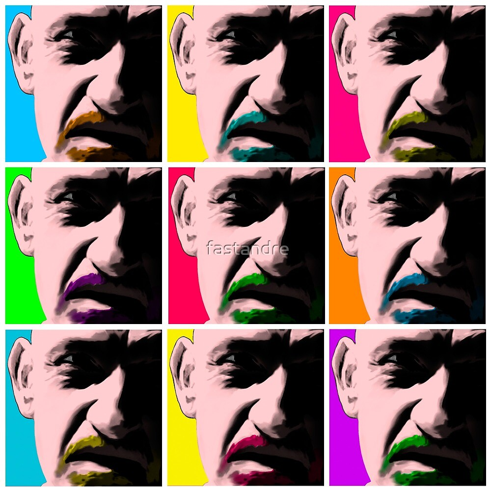 Don Logan Sexy Beast Warhol inspired Pop Art by fastandre