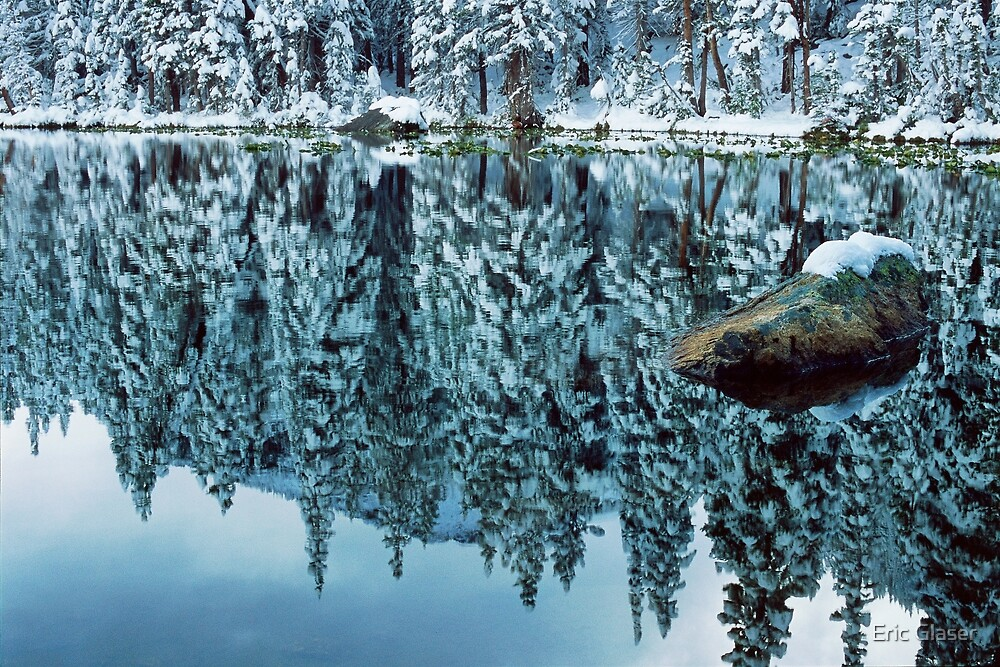Snow Mirror by Eric Glaser
