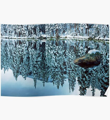 Snow Mirror Poster