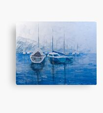 Sail Harbor Canvas Print