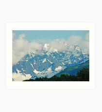 High On A Mountain Top Art Print