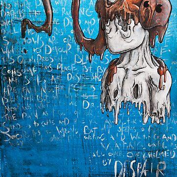 Disfigured/Dismantled: Despair by MarcLothsArt