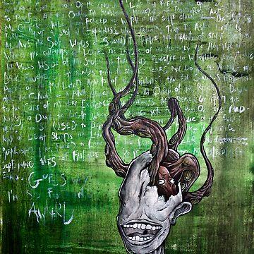 Disfigured/Dismantled: Awkward by MarcLothsArt