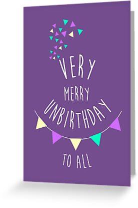 Very Merry Unbirthday by dupabyte