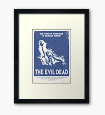The Evil Dead (1981) Custom Poster Framed Print