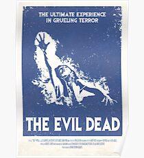 The Evil Dead (1981) Custom Poster Poster