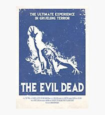 The Evil Dead (1981) Custom Poster Photographic Print