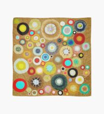 Poppies colorful Snow Landscape Scarf