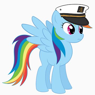 Captain Rainbow Dash by GabeForsell