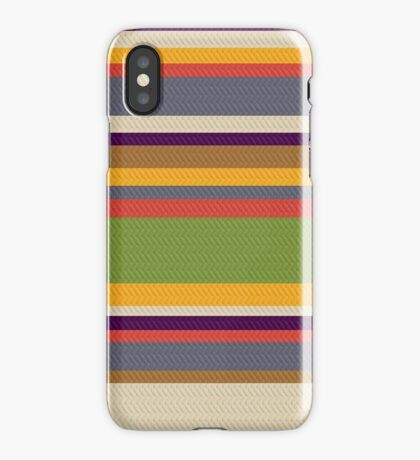 Fourth Doctor Scarf iPhone Case/Skin