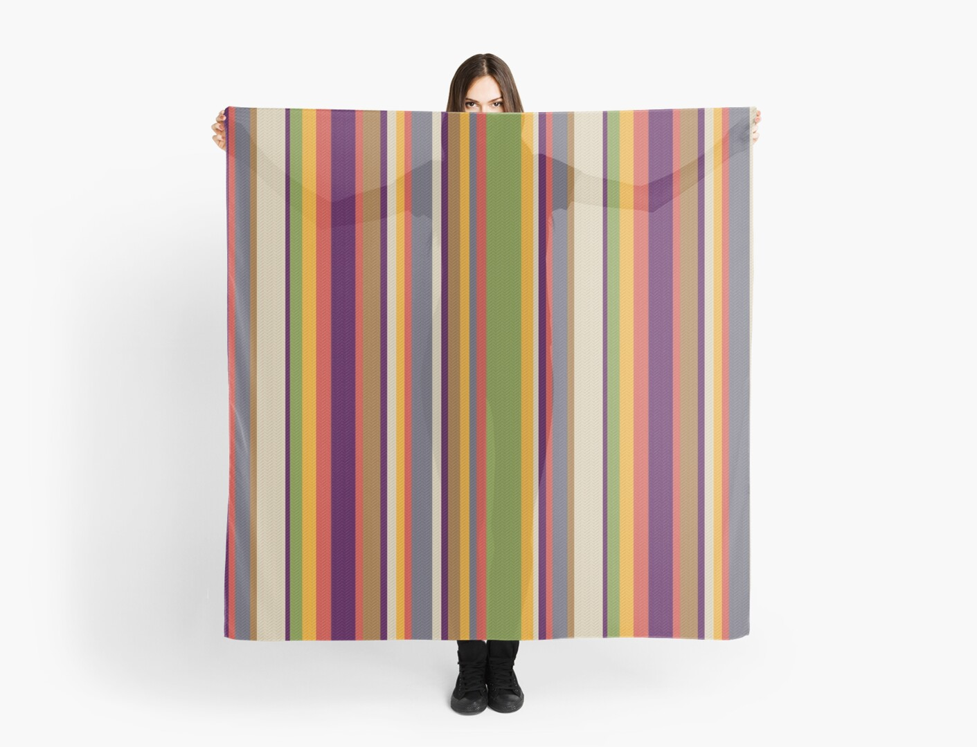 Fourth Doctor Scarf by ToneCartoons