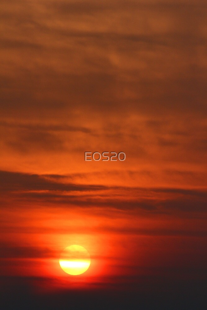 Smoky Sunrise by EOS20