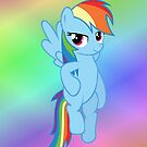 Rainbow Dash - Flying (iPhone) by M. Russell