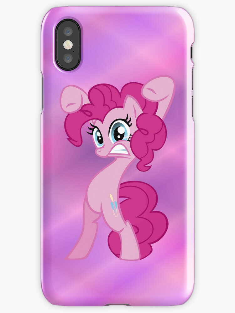 Pinkie Pie iPhone Case by M. Russell