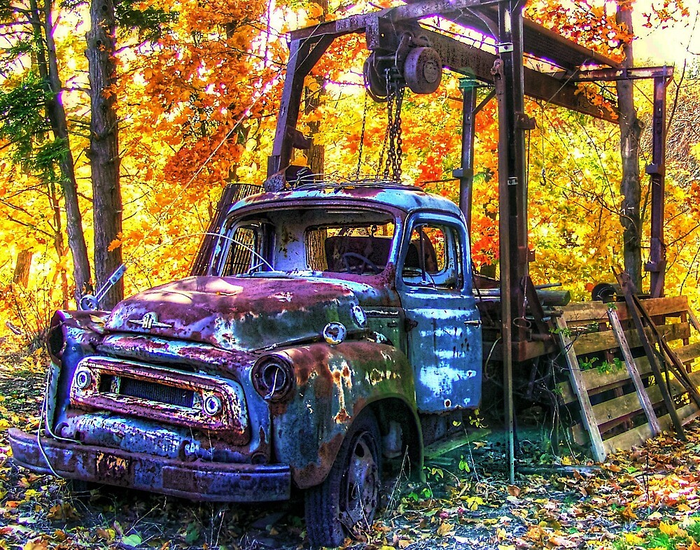 OLD TRUCK by Paul Drushler