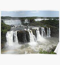 Iguassu Falls, Brazil Poster