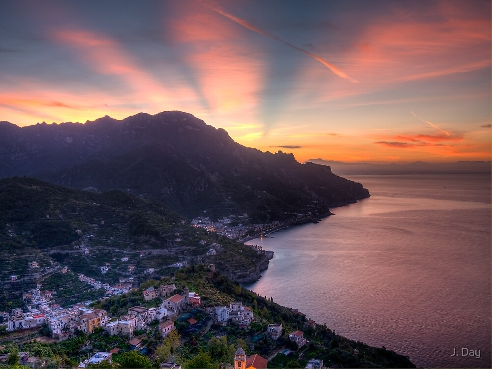 Ravello Sunrise by J. Day
