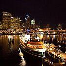 Sydney at Night by johnnabrynn