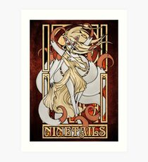 Rule 63: Ninetails Art Print