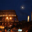 Colosseum at night, Rome, Italy by johnnabrynn