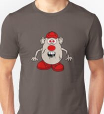 Zombie Potato Head Unisex T-Shirt