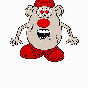 Zombie Potato Head by cerio