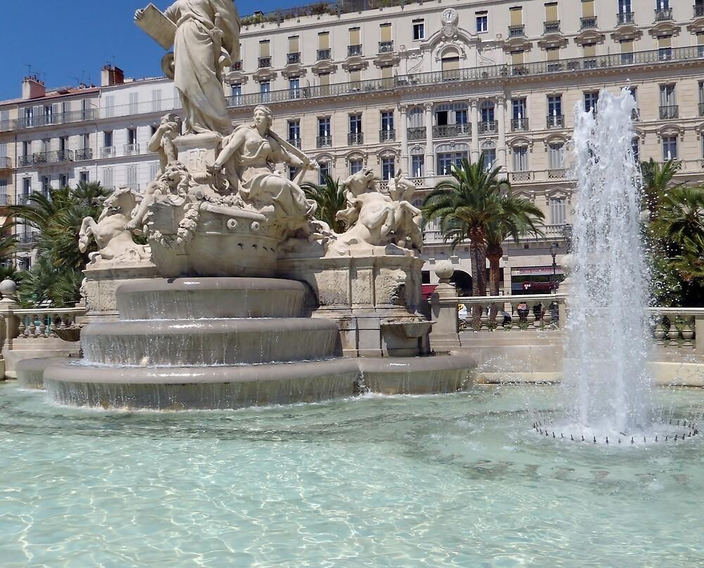 Place de la Libertie - France by clarebearhh