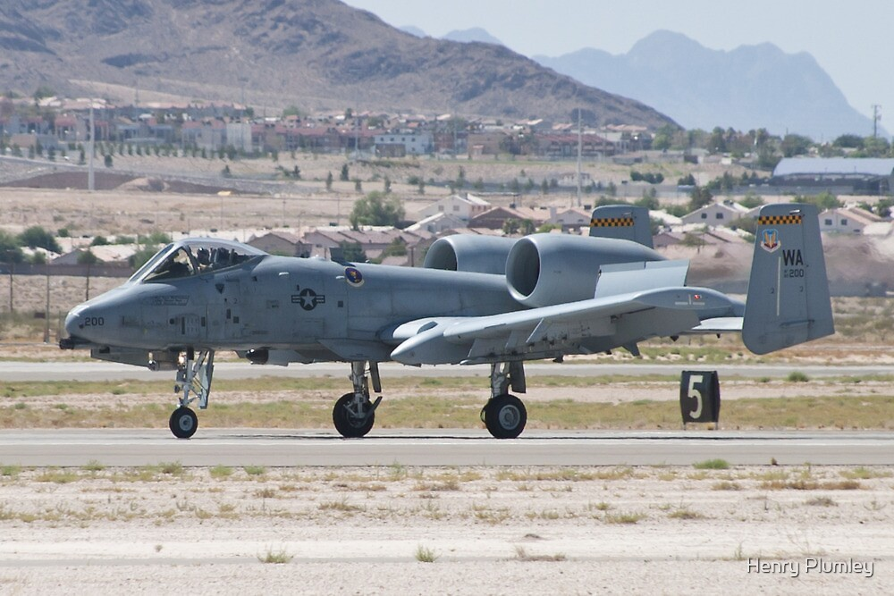 A-10A Thunderbolt II, WA AF 80-0200 Landing by Henry Plumley