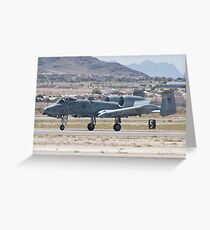 A-10A Thunderbolt II, WA AF 80-0200 Landing Greeting Card