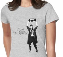 Say Anything - Dobler Womens Fitted T-Shirt