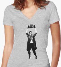Dobler Women's Fitted V-Neck T-Shirt