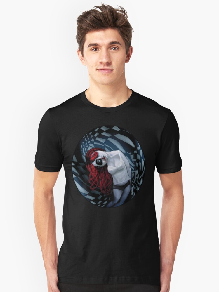 the dark side of my mind hurts Unisex T-Shirt Front