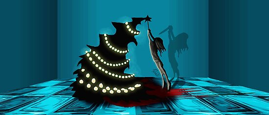 BLACK XMAS: Decorating the Christmas Tree by ROUBLE RUST