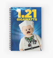 Lego Back To The Future Spiral Notebook