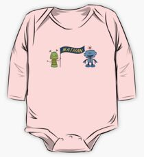 nathan w robots One Piece - Long Sleeve