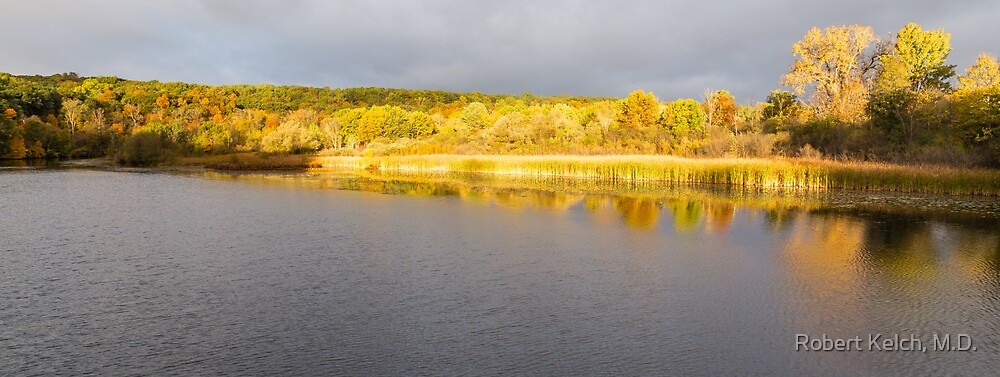 Morning Reflections on the Huron River by Robert Kelch, M.D.