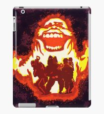 Pumpkin carving Ghost Busters iPad Case/Skin